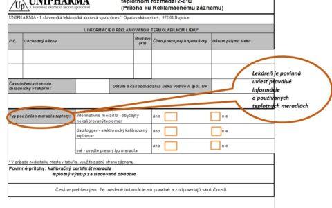 Zmena REKLAMAČNÉHO PORIADKU spol. Unipharma a.s. s účinnoťou od 1. apríla 2017