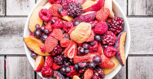 Maškrťte zdravé mrazom sušené ovocie a urobíte niečo pre zdravie