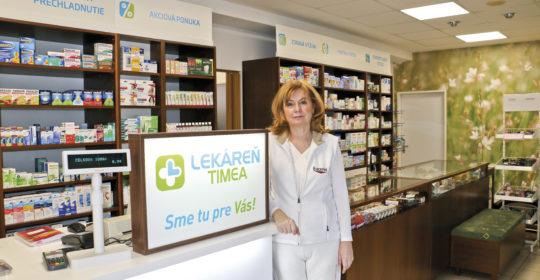 """PharmDr. Eva Raffajová: """"Je ťažké presvedčiť verejnosť, aby nevnímala lekáreň ako obchod"""""""