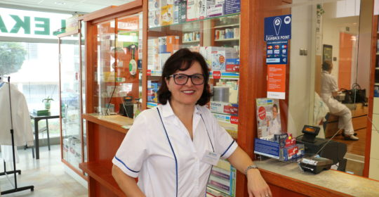 """PharmDr. Katarína Stollárová Lekáreň Hypericum, Nitra """"O lieku vie najviac farmaceut!"""""""