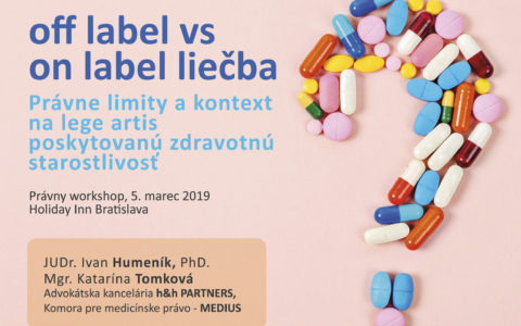 off label vs. on label liečba
