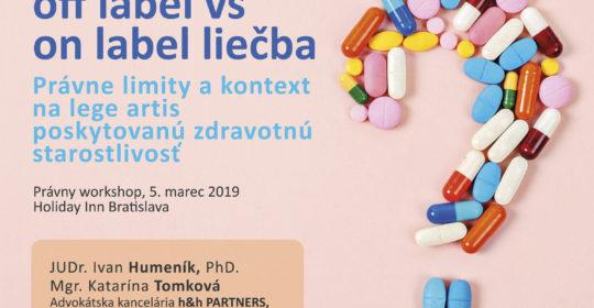 off label vs. on label liečba