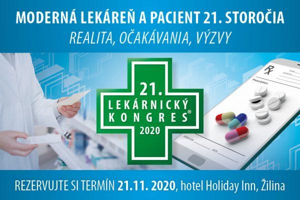 Na 21. Lekárnicky kongres prijal záštitu MUDr. Marek Krajčí