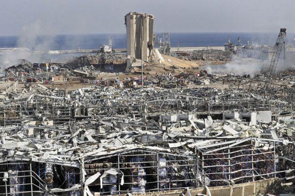 Pomoc obyvateľstvu Libanonu po tragickom výbuchu v Bejrúte