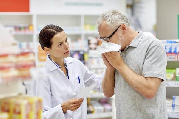 Lekárnik a samoliečba nachladnutia