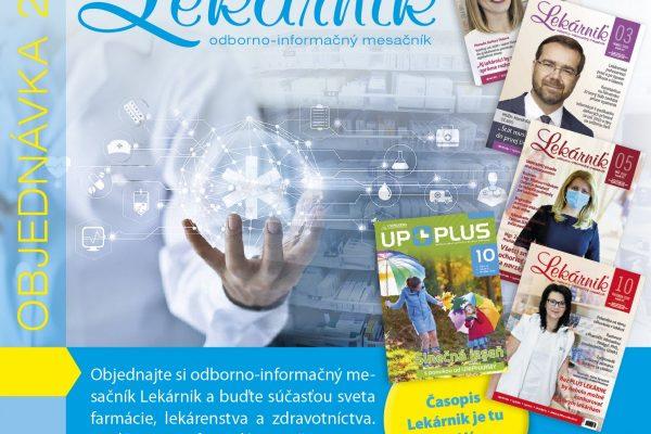 Predplatné časopisu Lekárnik na rok 2021
