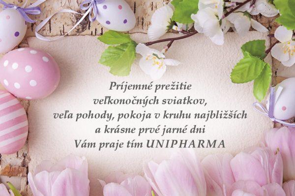 Veľkonočný pozdrav od UNIPHARMY
