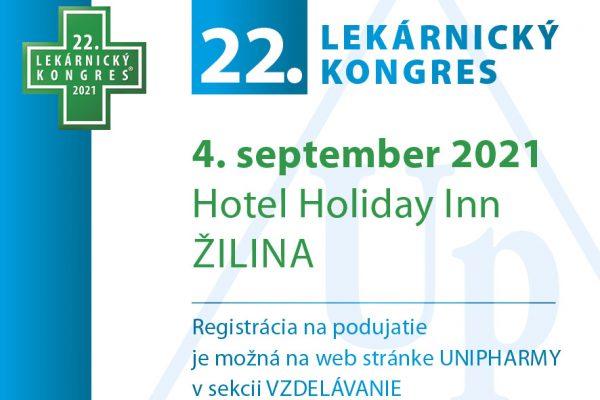 22. lekárnicky kongres